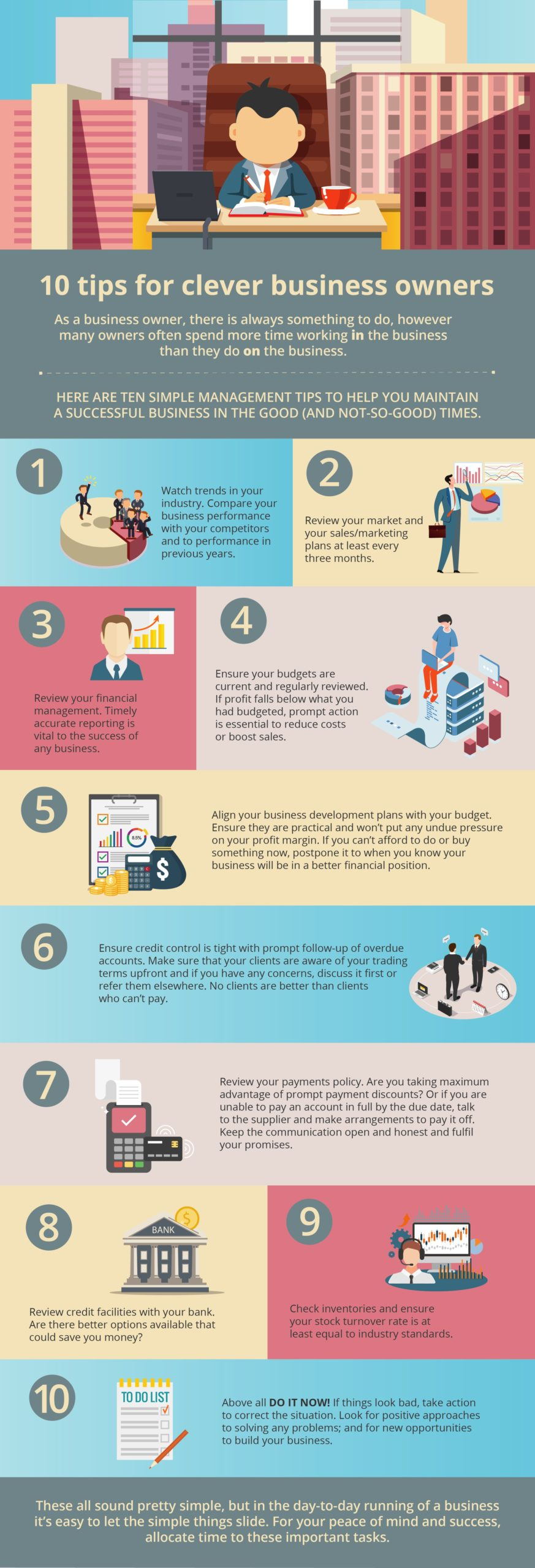 Ten tips for clever business owners
